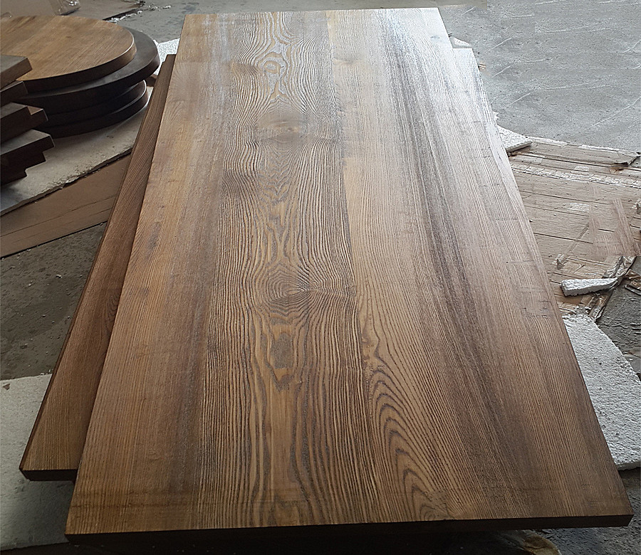 纯实木老榆木板吧台板台面板餐桌工作台窗台写字台桌面板隔板定制
