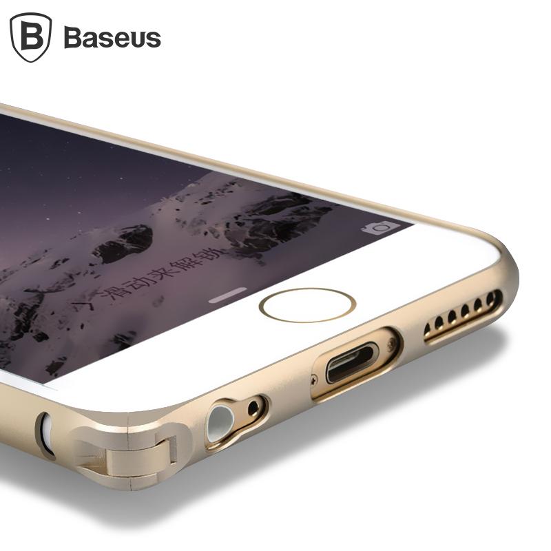 倍思 iphone6plus手機殼 蘋果6plus手機殼金屬邊框保護套5.5寸潮