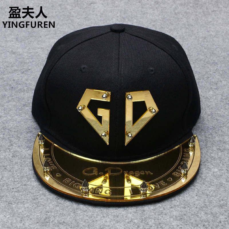 亞克力帽子明星同款帽平沿帽男棒球帽女板帽男潮嘻哈帽反光帽