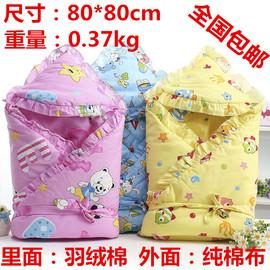 秋冬新款加厚婴儿包被睡袋睡裙婴儿抱毯婴儿被子小包被图片