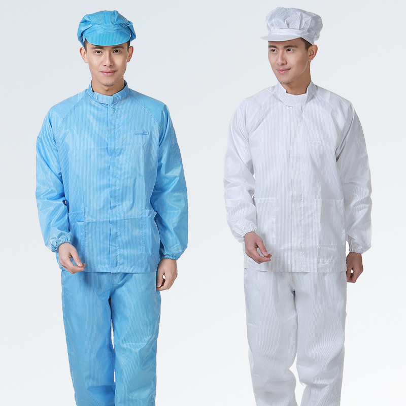Bag post anti-static work clothes dust-free workshop split work clothes painting work clothes uniform clean work clothes hat