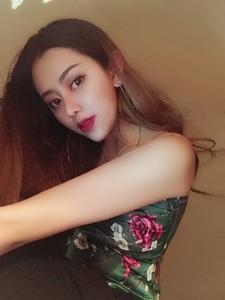 8964#【现货】2017新款人间四月民国绿 印花小吊带上衣女
