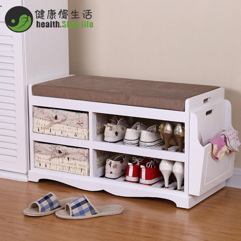 換鞋凳簡約 布藝客廳鞋櫃收納儲物沙發凳長凳腳凳鞋架子穿鞋凳