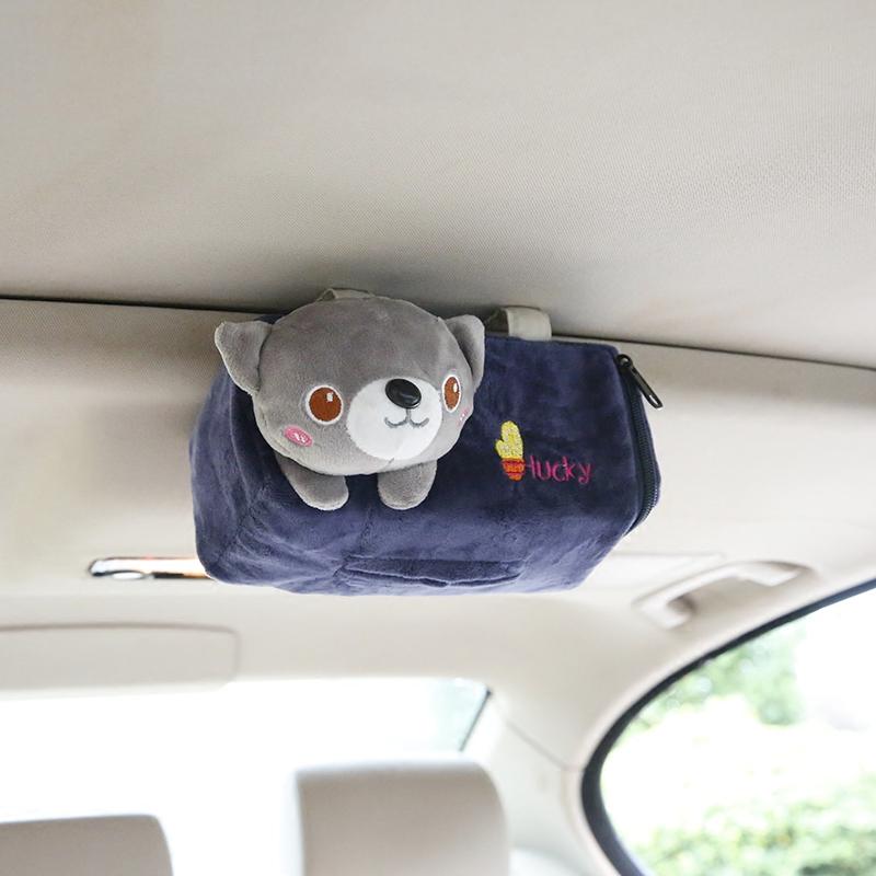 Автомобильные товары для салонов автомобилей панель Вечерние дни окно Коробка для мультфильмов