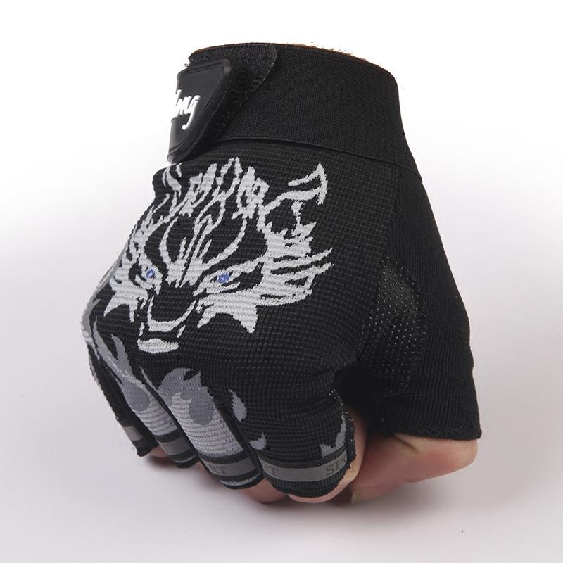 Мужские перчатки без пальцев Артикул 527439736345