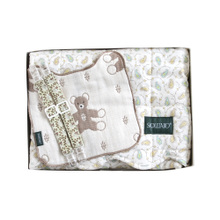Japan's behalf SOULEIADO baby bedding & amp; Handkerchief & amp; Paper clip group mint box The full moon gift