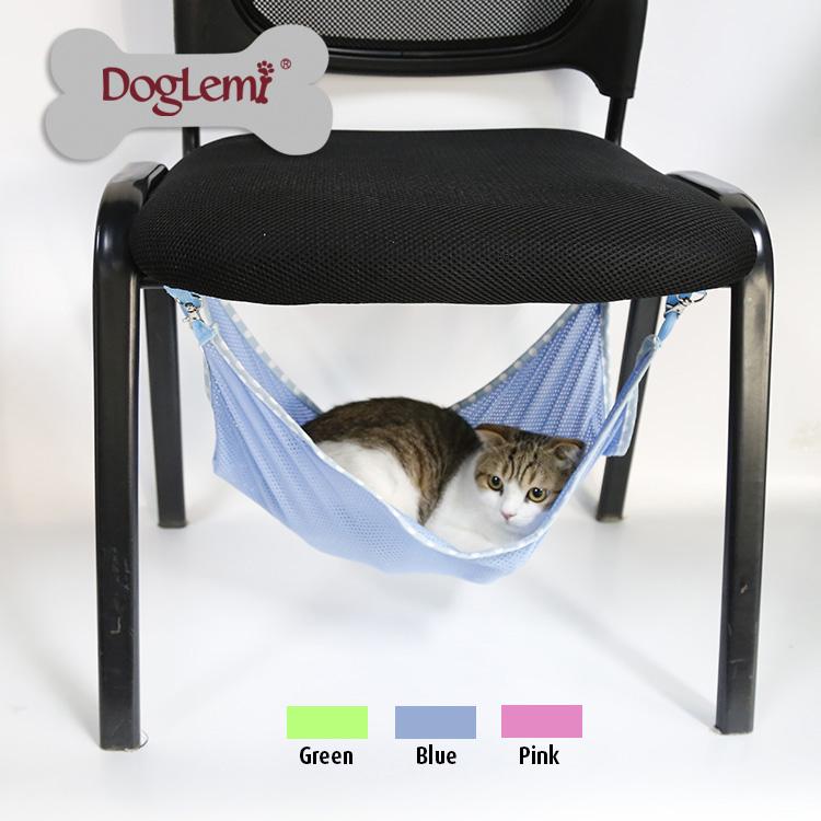 貓吊床寵物用品貓床貓窩床貓咪鐵籠吊床貓墊透氣網布秋千掛床