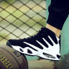 Autumn and winter influx of men's shoes Korean version of the trend of casual sports shoes increased within the male cotton-padded shoes plus velvet warm running shoes