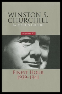 领20元券购买【预售】Winston S. Churchill, Volume 6: Finest Hour, 1939