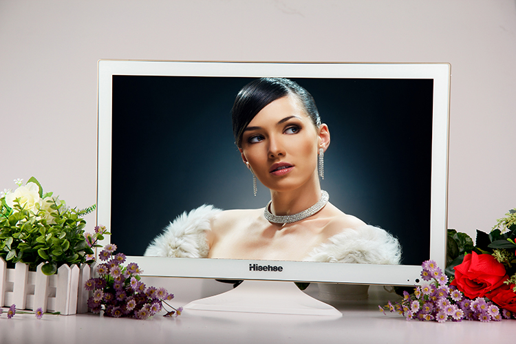 17 26寸彩色液晶电视机小苹果款便宜22平板LED接wifi网络19无线带