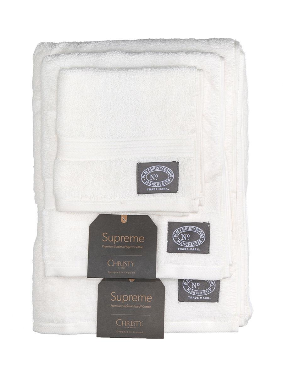 CHRISTY кремового цвета удобный прекрасный хлопок серия полотенце три образца