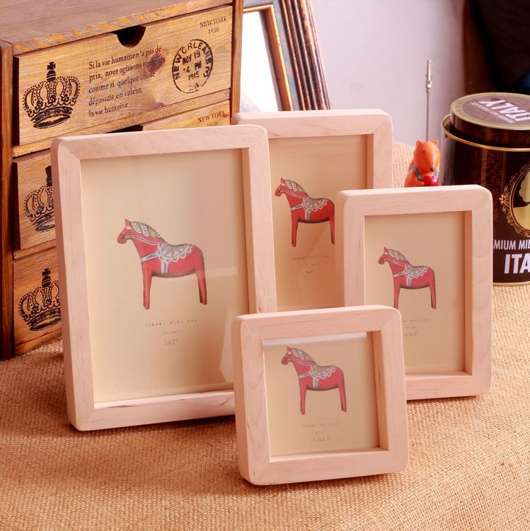 Solid Wood Picture Frame Wooden Photo Frame Home Furnishing