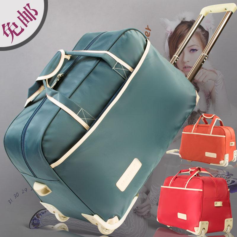 Сумка женщина багаж пакет для мужчин мощность род упаковки корейский сумочку случайный сложить дэн шасси пакет путешествие мешок