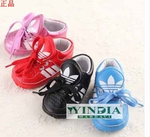 0 and 1 year old baby shoes with anti off men and women baby soft bottom shoes leisure single baby shoes sports shoes at home