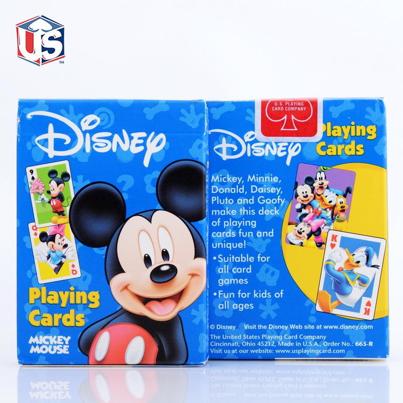 美國迪斯尼卡通Disney mickey米奇撲克牌61六一兒童節 OHIO