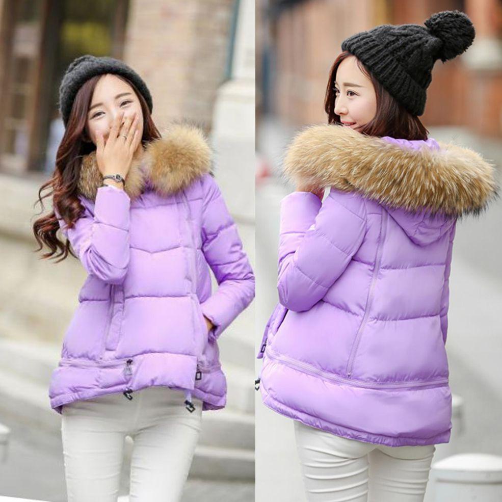 Вниз проложенные дамы 2016 новый женский пальто Распродажа специальные зимней одежды пальто корейских студентов куртки женщин