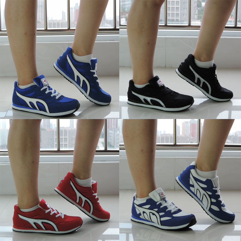 Дышащий кроссовки, кеды, кроссовки для мужчин и женщин марафон бегунов упражнения спортивная(ый) бега обувь XL