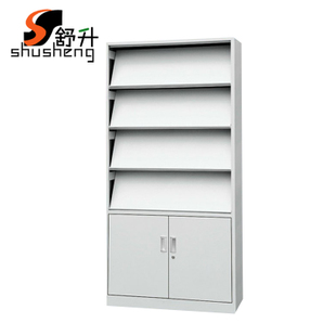 Shu-liter newspaper rack magazine rack cupboard office cabinet file cabinet shelves of high-end special display stand