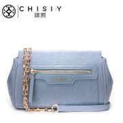 Qi XI handbag chain bag Crossbody mini bag 2015 new leather mini shoulder bag Wild Wing Chao