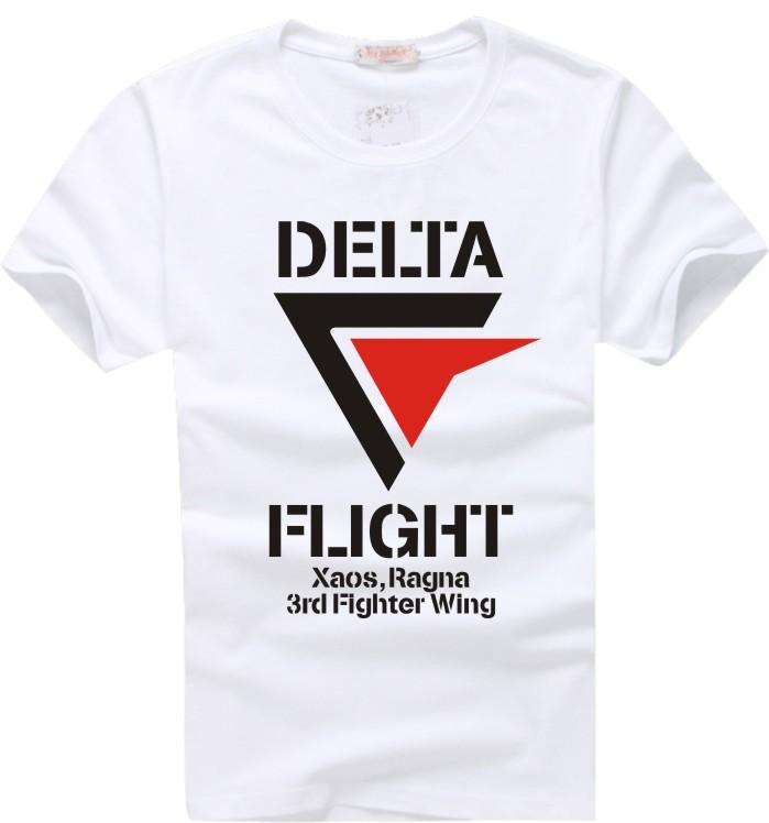 超时空要塞DELTA DELTA小队 短袖T恤 精梳纯棉 原版复刻 两件包邮