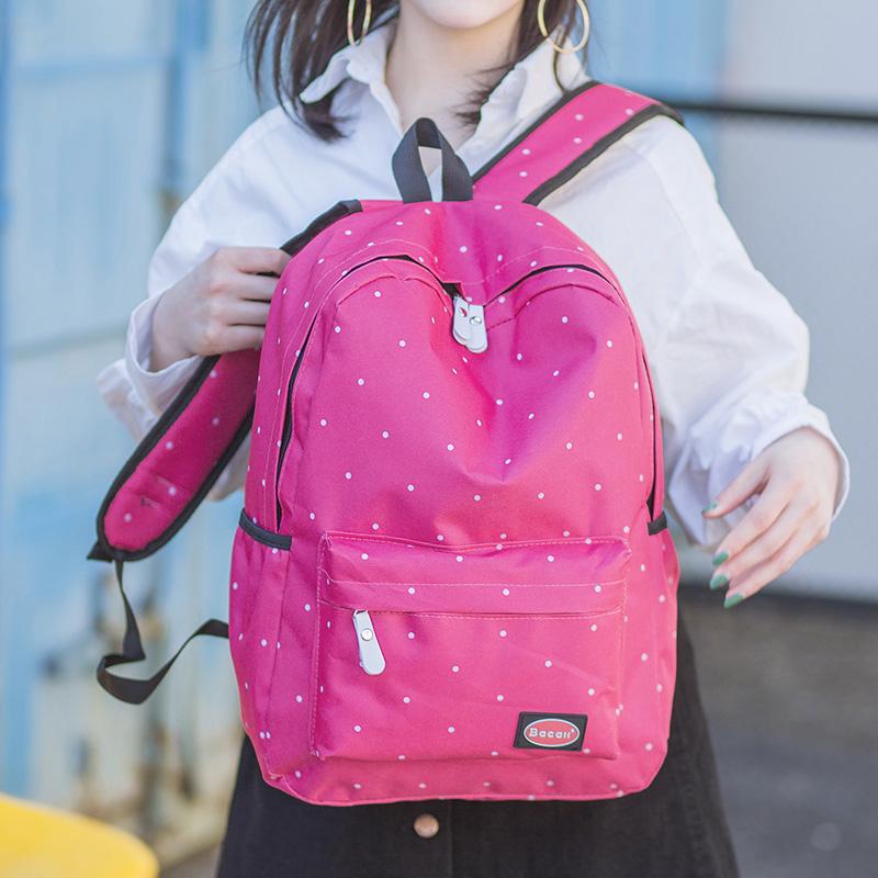 學院風中學生大容量背包