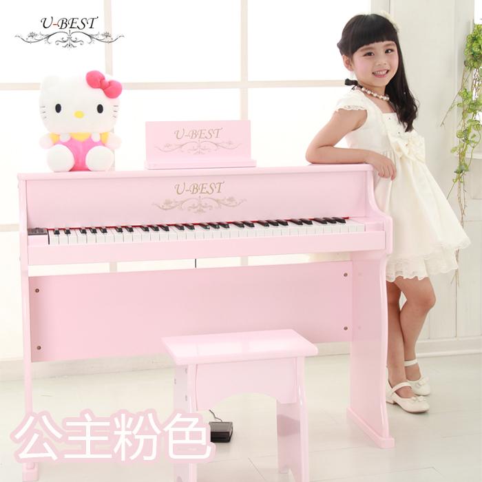 U-BEST/ отлично должен победа ребенок электронный пианино 61 связь день рождения подарок ребенок деревянный пианино игрушка музыка