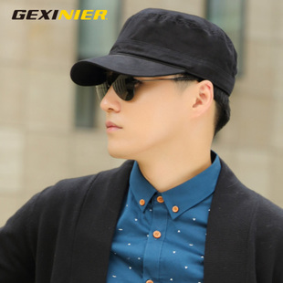Flat cap hat male Korean tidal fall and winter cap millinery large code casual summer hat general cap