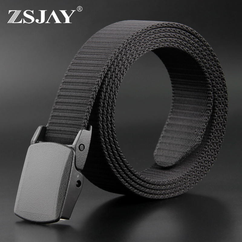 Tactical bird canvas belt mens automatic belt buckle youth casual belt Korean belt belt anti allergy belt