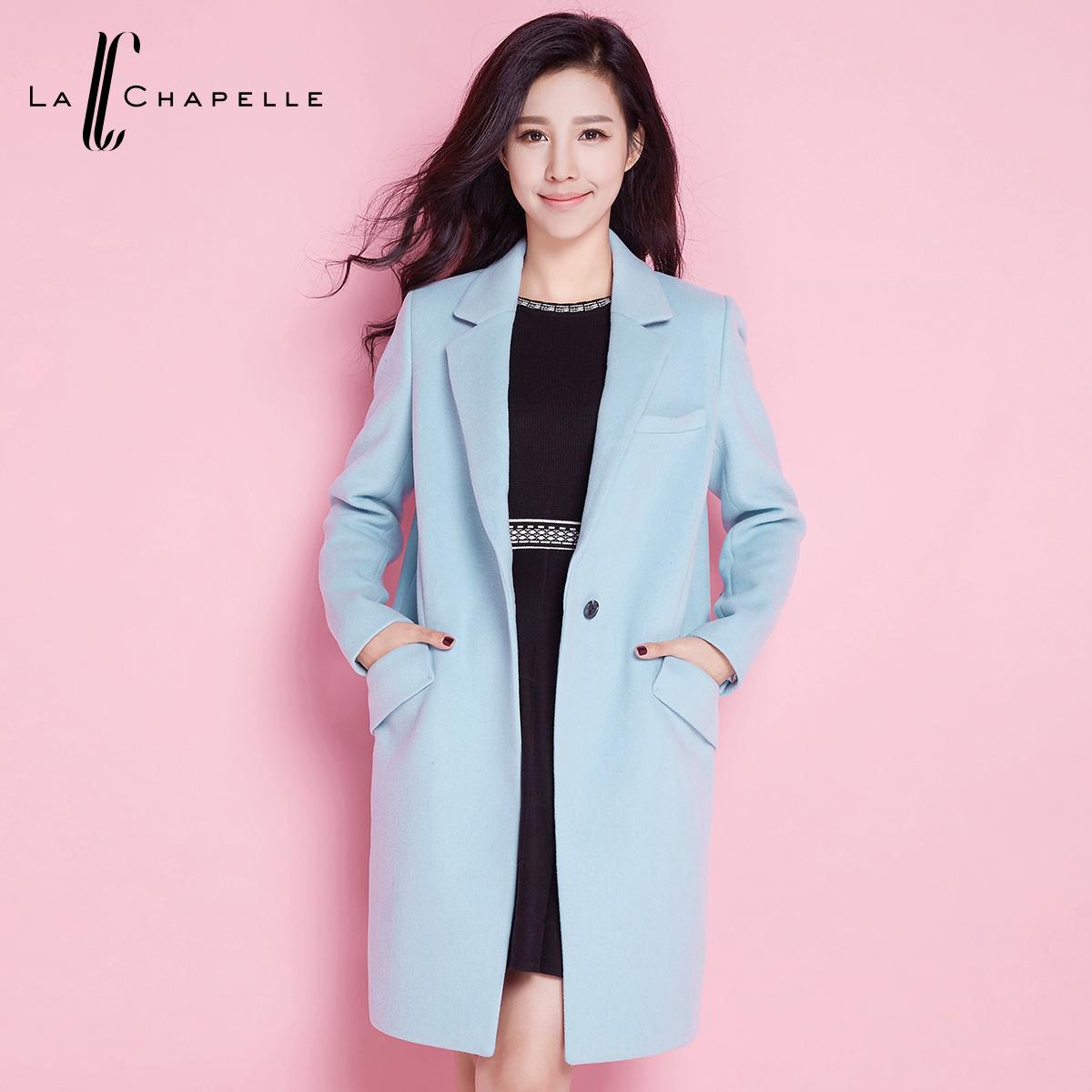 La Chapelle/拉夏贝尔毛呢外套女装质量怎么样,是什么牌子