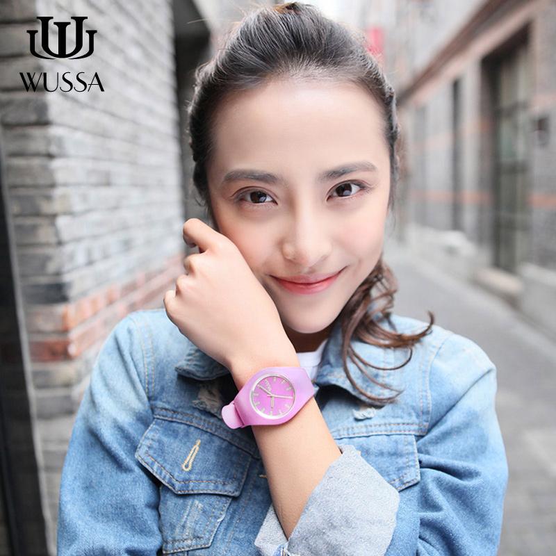 WUSSA· 果凍手表