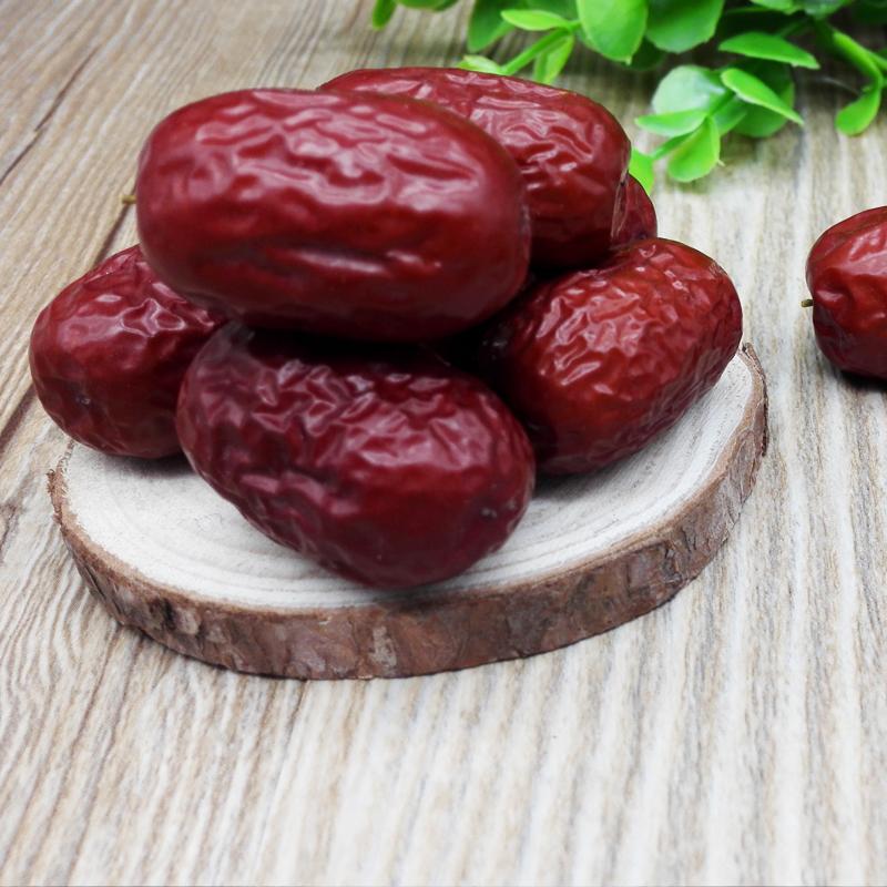 新疆若羌一级红枣枣子枣干楼兰灰枣散装孕妇干果零食500g包邮特价