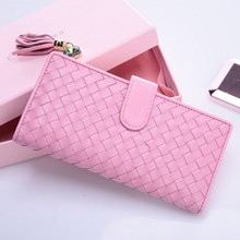2015 summer trend ladies wallet long leather handbags hand caught fashion ladies wallet multi-functional mobile phone package