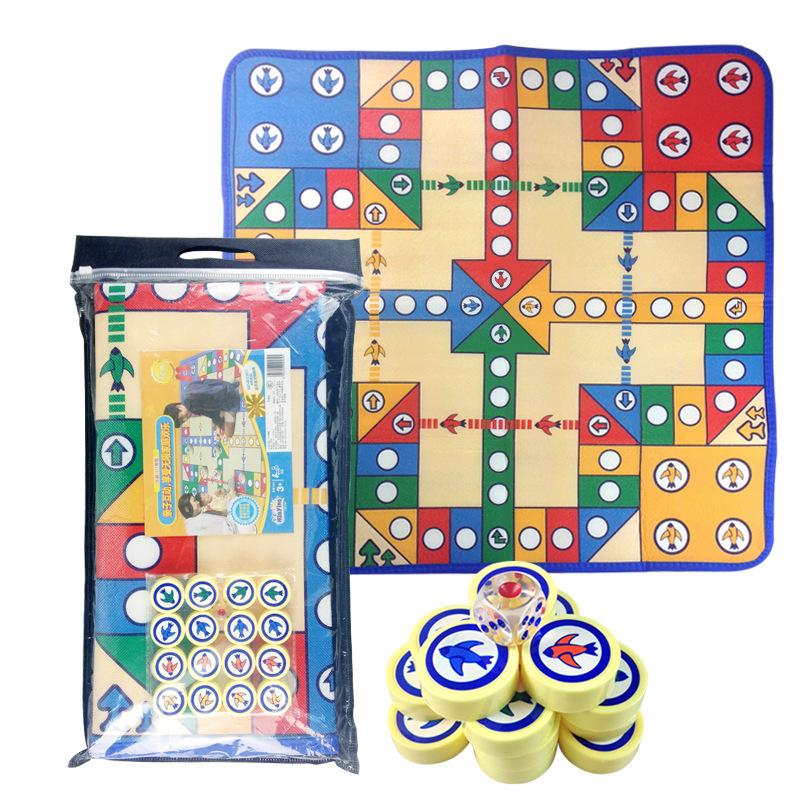 玩具嬰兒寶寶爬爬墊兒童飛行棋游戲毯9.9元包郵飛機泡沫爬行墊