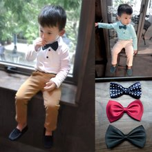 High-grade han edition boy bow ties The New England wind baby tie children tie their small bow tie