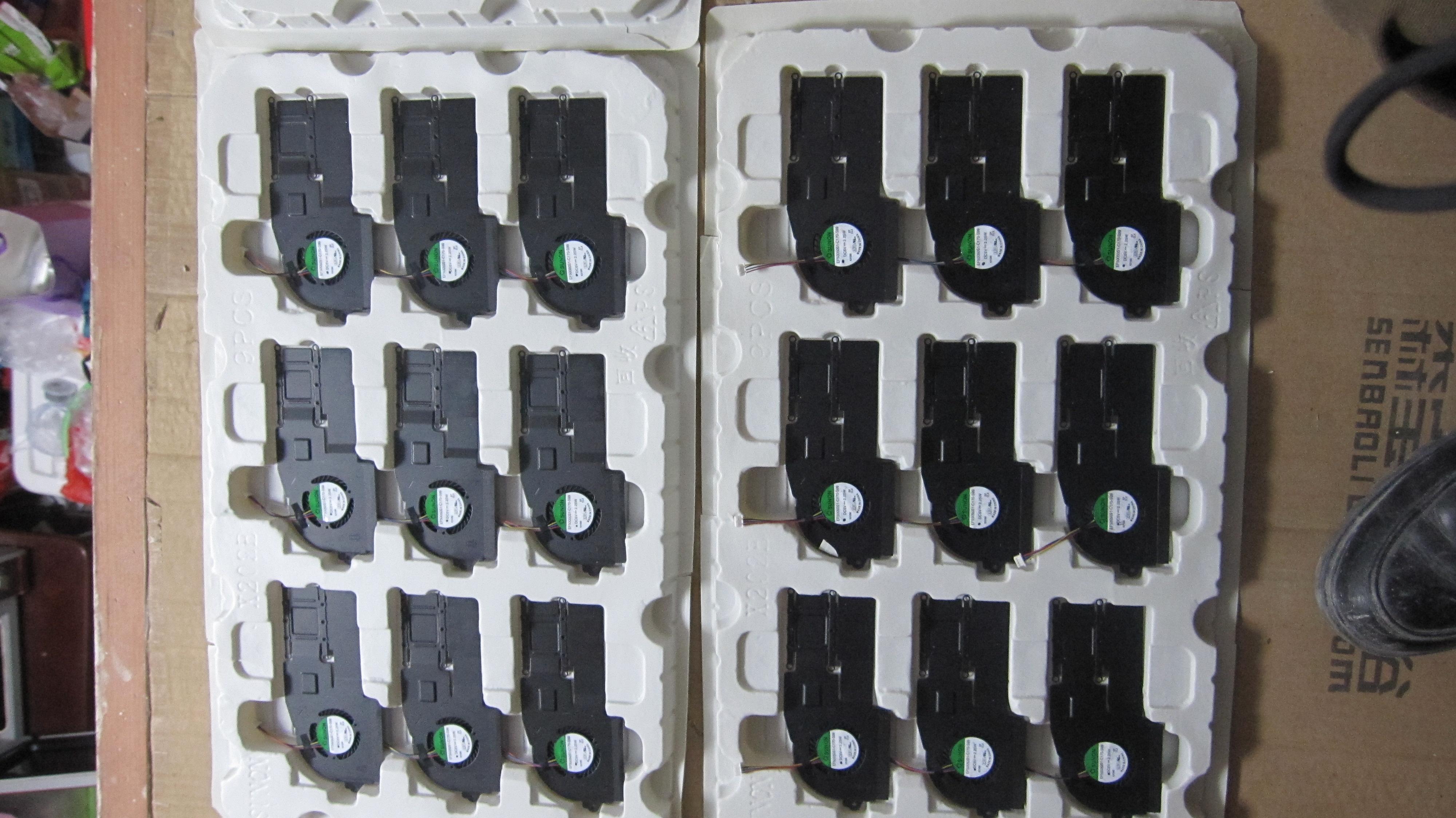 Новый оригинальный ASUS ASUS S200 s200e X201E x202e ноутбук охлаждения вентилятора модулей