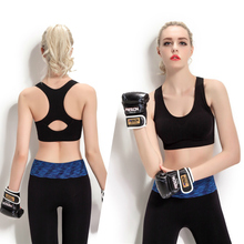 Ma3 jia3 line movement hall No steel thin section shockproof running vest type underwear bra M003 yoga movement