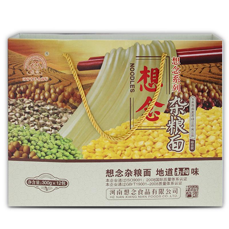 ~天貓超市~想念掛麵 雜糧麵條 3600g綠豆蕎麥玉米黃豆
