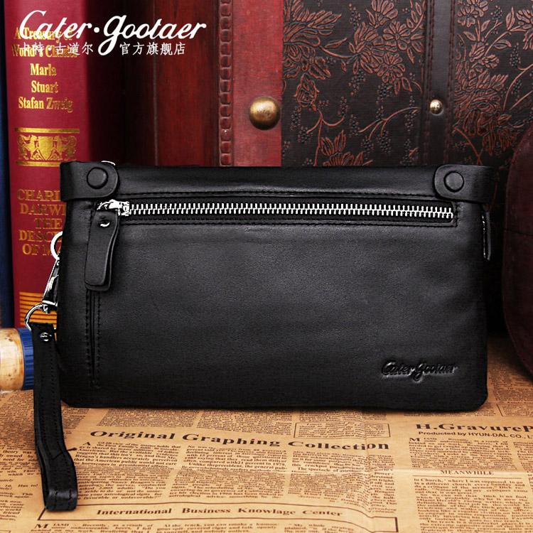 バッグの柄の平地の革を手に持って、ファッション的なカジュアルなファスナーをつかんで、多くの用途に使えます。