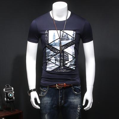 爆款 全年供货 1739 P65 短袖T恤 深蓝