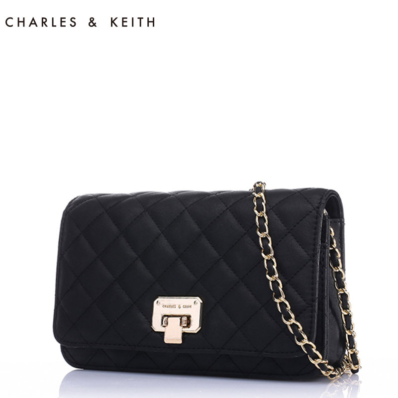 Charles Amp Keith Handbags Lozenge Chain Las Small Shoulder Bag Banquet Loading Zoom