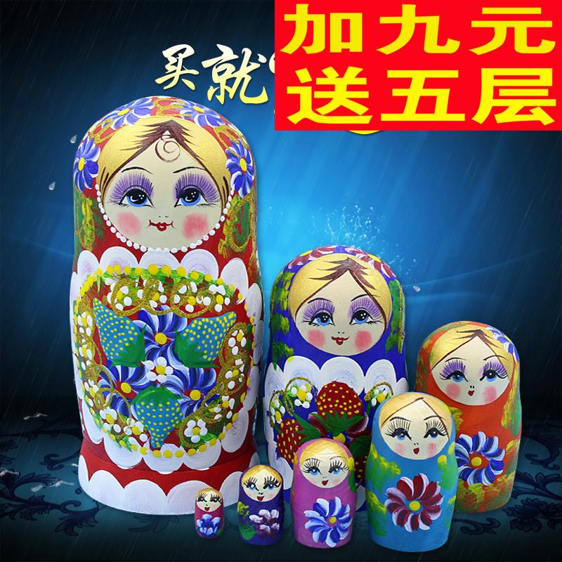 Россия крышка ребенок 7 слой подлинный ручной работы ручной работы искусство статья охрана окружающей среды американская липа семь ребенок день рождения подарок 32