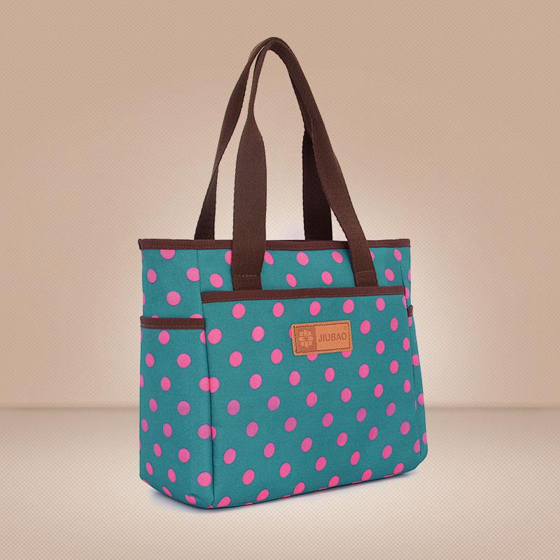 大容量号饭盒袋 便当包 单肩妈妈包多功能妈妈包靓妈袋母子外出包