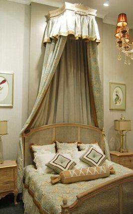 宝盛华庭  美式床幔  量身定做  市场价300元