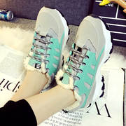 2015 new athletic casual Korean version of autumn running shoes Sneakers Shoes shoes laced with round head students Chao