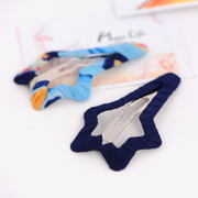 Know Connie hair accessories Korean version of big bang clip Korea clips issuing BB clip Clip hand-woven cloth hair clips