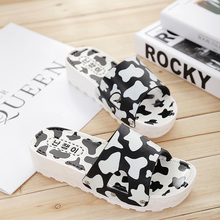 2015 new slippers women summer prevent slippery slope cows sponge bottom sandals in indoor large base fashion women's shoes