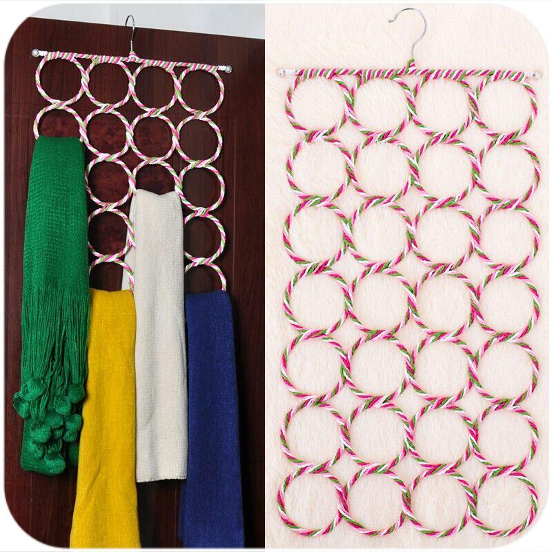 Круг шарф полка одежда нижнее белье наконечник шарф шарфы стойка кожаный ремень интенсивный полка хранение скольжение магия вешалка