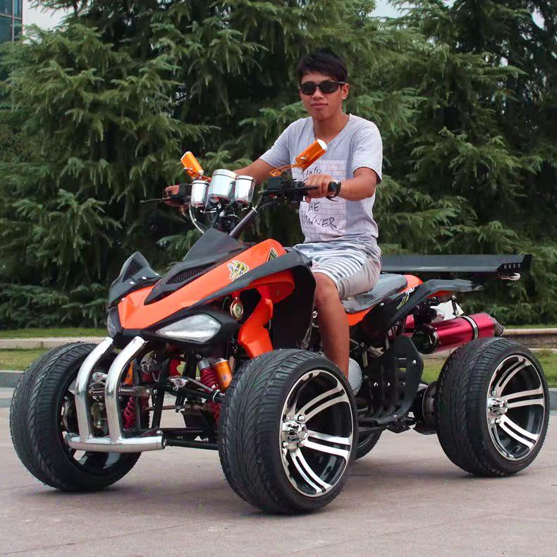 新款改装GY6无极变速大火星沙滩车四轮摩托车四轮 越野场地旅游车
