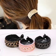 Know NI the Korean version of simple jewelry hair jewelry hair clip Lady links catch twisted banana clip ring clamp
