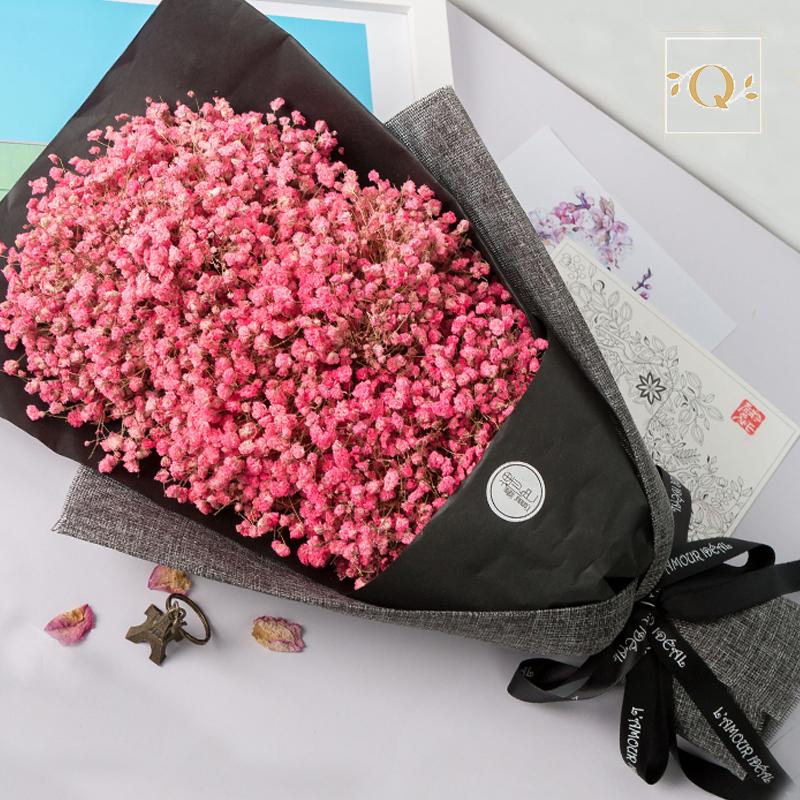 В небе звезда сухие цветы букет незабудка день рождения подарок день святого валентина полный промышленность подарок природный действительно цветок сухие цветы Цянь облако